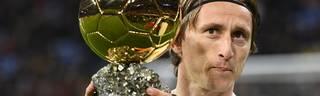 Luka Modric gewann in diesem Jahr nicht nur den Ballon d'Or