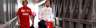 Sebastian Vettel nimmt das Ferrari-Team in Schutz