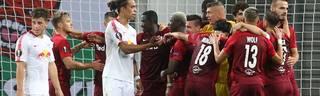 Yussuf Poulsens Kopfballtor reicht RB Leipzig nicht zum Punktgewinn