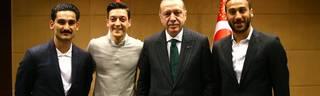 Foto mit Özil und Gündogan: Erdogan mit Unverständnis über Wirbel
