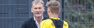 Hans-Joachim Watzke sieht den BVB beim Poker um Talente wie Jacob Bruun Larsen besser aufgestellt als in der letzten Meisterzeit