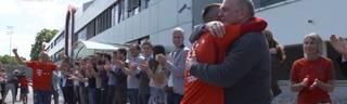 FC Bayern: Rafinha, Franck Ribery und Arjen Robben werden verabschiedet