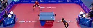 European Games - Tischtennis: Timo Boll vs. Vladimir Samsonov - Viertelfinale