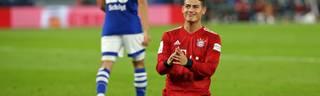 James Rodriguez traf für den FC Bayern an den letzten beiden Bundesliga-Spieltagen per Kopf