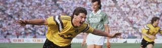 Norbert Dickel wurde 1989 zur BVB-Legende