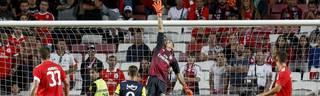 Odysseas Vlachodimos spielt im Tor bei Benfica Lissabon in der Champions League