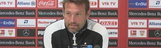 VfB Stuttgart: Markus Weinzierl mit wütender Pressekonferenz beim VFB Stuttgart