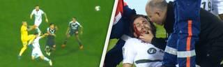 Ligue 1: Die Verletzung von Neven Subotic im Video