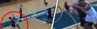 Das dreckigste Foul des Jahres: College-Basketballer suspendiert