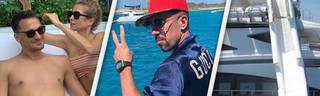 Bayern-Jäger und Monster-Yacht: So machen Hummels, Ribery und Ronaldo Urlaub