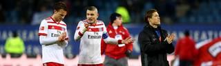Albin Ekdal (l.) wechselt vom Hamburger SV zu Sampdoria Genua