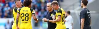 BVB remis gegen Hoffenheim - Dortmund-Coach Favre sieht gutes Signal