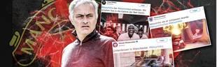 Jose Mourinho ist von Manchester United entlassen worden