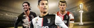 Cristiano Ronaldo (M.) darf sich bei Juventus auf hochkarätige Neuverpflichtungen freuen