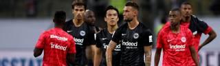 Eintracht Frankfurt hatte im Supercup gegen den FC Bayern klar das Nachsehen