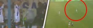Horror in Brasilien: U20-Spieler während des Spiels vom Blitz getroffen