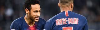Neymar und Kylian Mbappé spielen womöglich künftig nicht mehr bei PSG zusammen