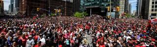 Bei der Meisterparade der Toronto Raptors kam es zu einer Schießerei