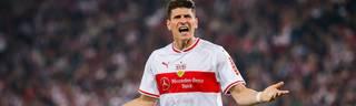 Mario Gomez richtete nach dem Spiel eine Kampfansage an Union Berlin