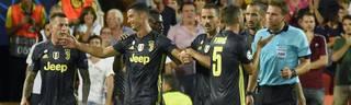Cristiano Ronaldo war nach der Roten Karte von Felix Brych den Tränen nahe