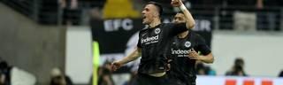 Filip Kostic erzielte den Führungstreffer für Eintracht Frankfurt