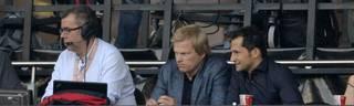 Oliver Kahn (M.) und Hasan Salihamidzic (r.) gewannen 2001 gemeinsam die Champions League