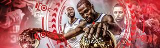 Die Golden State Warriors peilen ihren dritten NBA-Titel in Folge an