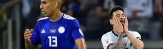 Copa América: Argentinien um Lionel Messi patzt auch gegen Paraguay