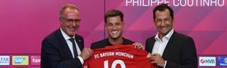 Philippe Coutinho spielt seit Sommer 2019 für den FC Bayern München