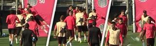 Sergio Ramos rastet im Training aus und schießt Jugendspieler Sergio Reguilon ab