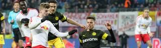 Beim 1:0-Sieg des BVB bei RB Leipzig überzeugte Julian Weigl als Aushilfs-Innenverteidiger