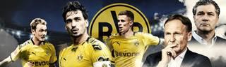 Julian Brandt, Mats Hummels und Thorgan Hazard spielen in der kommenden Saison für den BVB