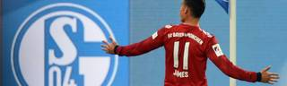 James Rodriguez brachte den FC Bayern mit seinem zweiten Saisontor früh in Führung