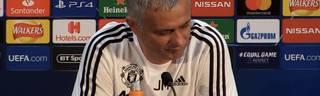 Jose Mourinho genervt von Pressekonferenz vor Spiel gegen Juventus Turin