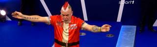 Peter Wright ist bei der Darts-WM überraschend ausgeschieden