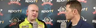 Darts-WM: Superstar Michael Van Gerwen äußert sich zum Bierduschen-Eklat