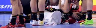 Handball-WM: Deutschlands Spielmacher Martin Strobel verletzt sich gegen Kroatien schwer am Knie