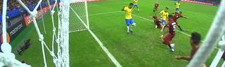 Copa America: Brasilien 0:0 - Firmino verhindert Tor von  Coutinho