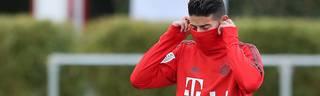 FC Bayern: James erleidet Außenbandteilriss im Knie, James Rodriguez fällt bei den Bayern längere Zeit aus