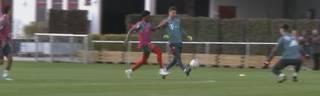 Ersatztorwart Sven Ulreich erzielt im Bayern-Training ein Tor