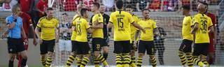 Paco Alcacer (9) brachte den BVB gegen Liverpool schon in der 3. Minute in Führung