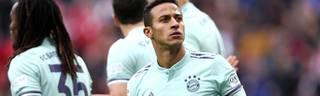 1. FSV Mainz 05 v FC Bayern Muenchen - Bundesliga Thiago Alcantara spielt seit 2013 Beim FC Bayern München und absolvierte bisher 105 Pflichtspiele