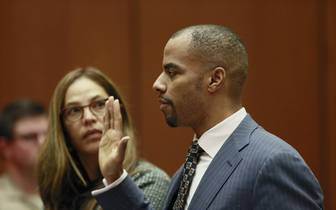 Darren Sharper Court Appearance