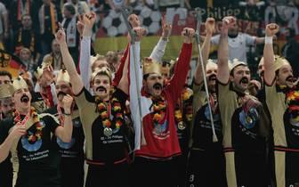 Das DHB-Team holte 2007 den ersten WM-Titel seit 29 Jahren