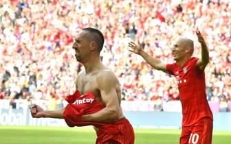 Franck Ribery und Arjen Robben stehen vor ihrem letzten Pflichtspiel beim FC Bayern