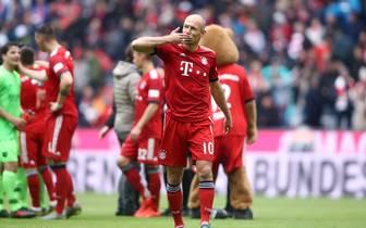 Der Vertrag von Arjen Robben beim FC Bayern München läuft im Sommer aus