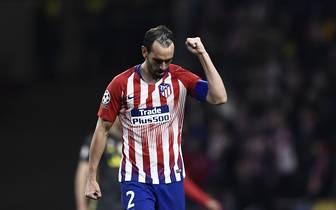 Diego Godin von Atletico Madrid