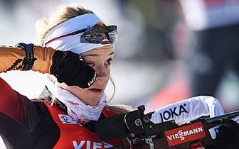 Miriam Gössner gab 2009 ihr Weltcup-Debüt als Biathletin