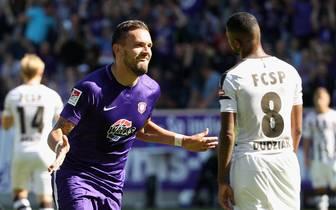 FC Erzgebirge Aue v FC St. Pauli - Second Bundesliga