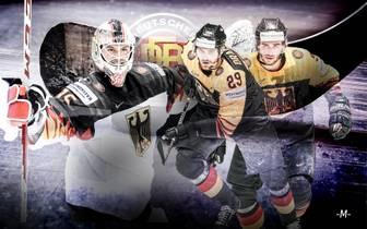 Eishockey-WM: Zeugnis des DEB-Teams mit Draisaitl, Seider, Kahun, Grubauer